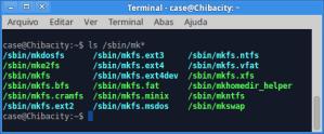 Linux mkfs