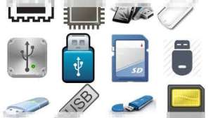 icons of flash devices