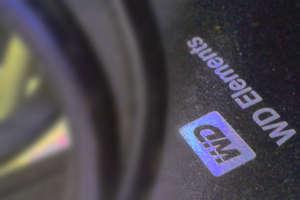 Foto parcial do HD externo USB WD Elements