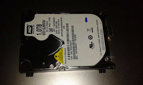 HD WD 1.0 TB Western Digital
