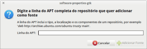 Adicionar canal de software no ubuntu