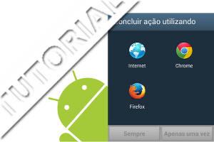 Painel Concluir ação usando no Android