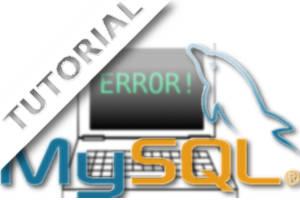 Capa do artigo sobre como lidar com erros no MySQL
