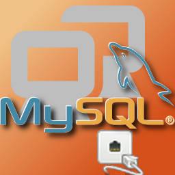 imagem de conexão mysql via telnet