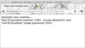 mensagem de erro do MySQL - funções mysql_errno e mysql_error()