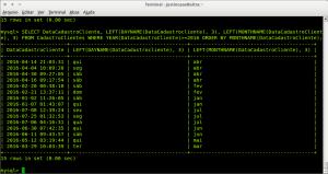 MySQL - mostrar nome do dia e nome do mês