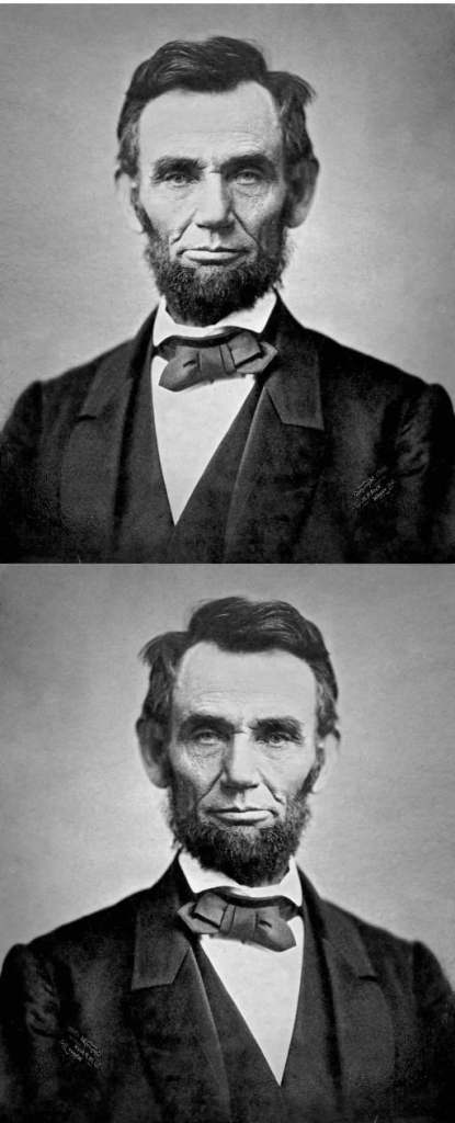 Abraham Lincoln in November 1863.