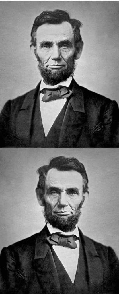Abraham Lincoln in November 1863.