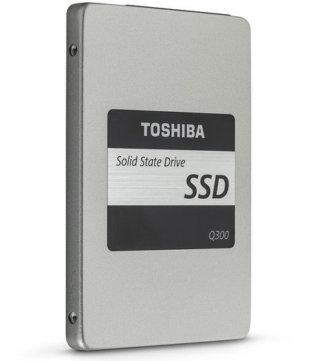 SSD drive by Toshiba