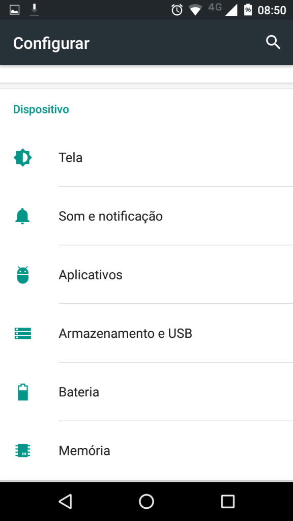 Android 6.0 Marshmallow aplicativos