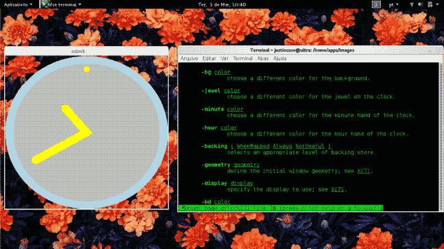 screenshot oclock clock widget