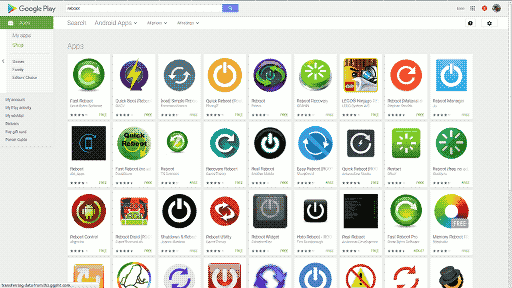 Android Play Store Screenshot