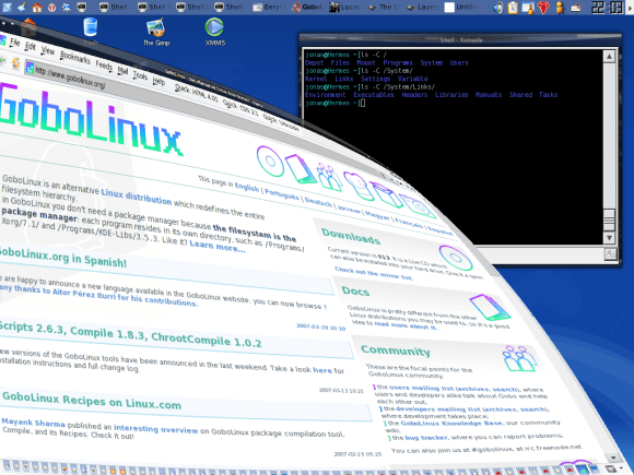 gobolinux screenshot