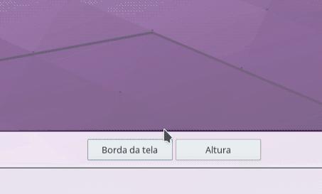 kde configuração barra de status