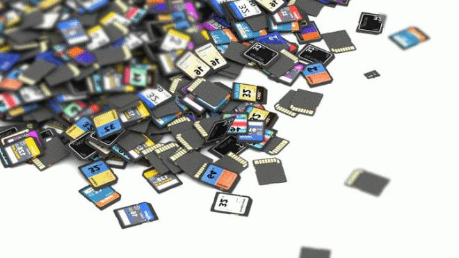 many sd cards