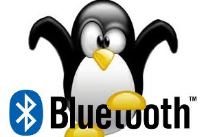 linux tux bluetooth logo