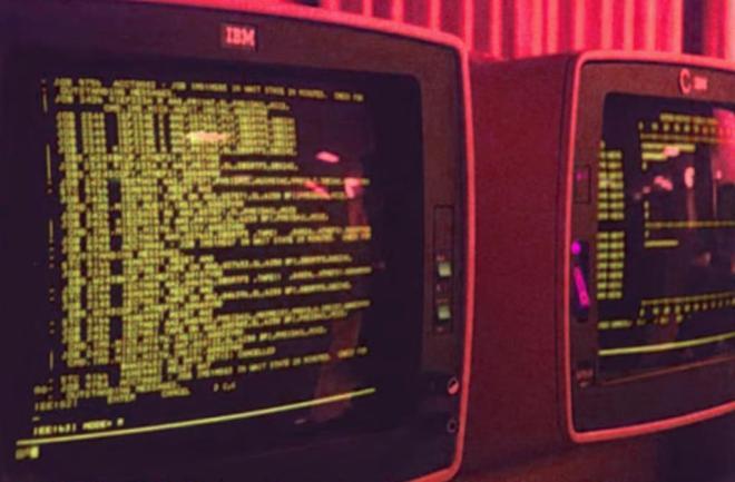 ibm 3278 console terminals