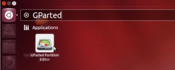 ubuntu gparted particionamento