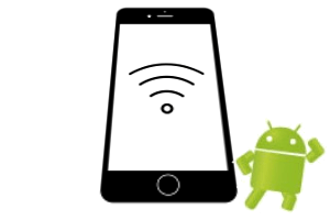 android logo wi-fi