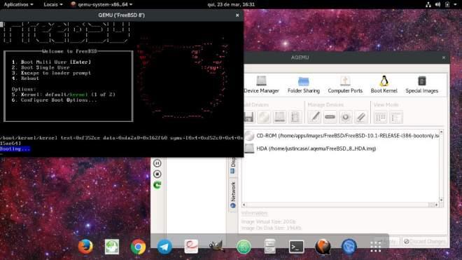 FreeBSD virtual machine qemu