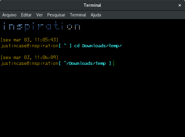 fancy linux terminal