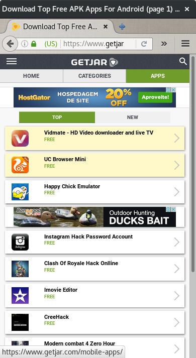 getjar screenshot web