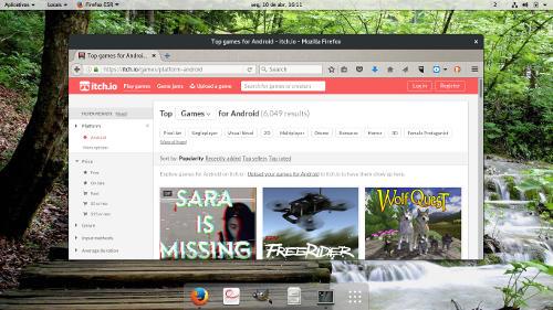 captura de tela loja repositorio