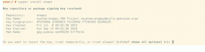 instalar snap no opensuse