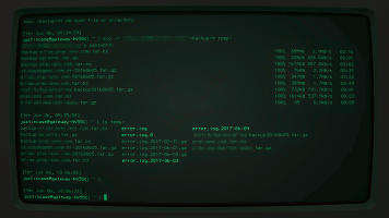 ssh scp screen