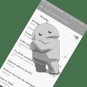 android painel do desenvolvedor