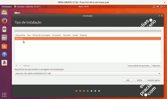 Instalação do Ubuntu 17.10