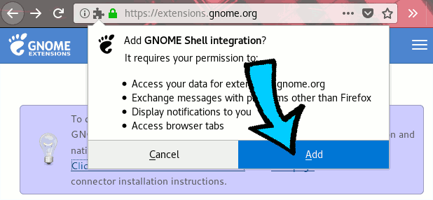 Add extension.