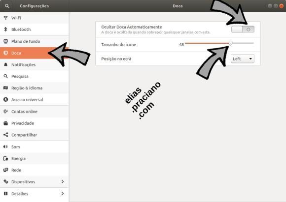 ubuntu doca configuração