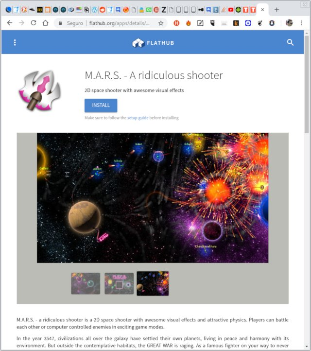 mars shooter game