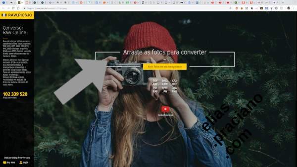 home page do site raw.pics.io