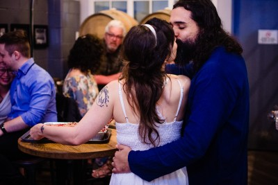 Sarah and Arthur wedding at Tooth and Nail Brewing Company Ottawa