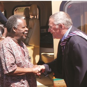 Is President Sata discriminating against a white vice-president?