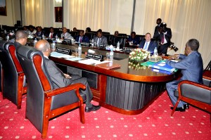 President Sata-Cabinet 1