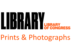 Library of Congress, Prints and Photographs