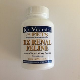 Rx Renal feline 120 Rx vitamins For pets