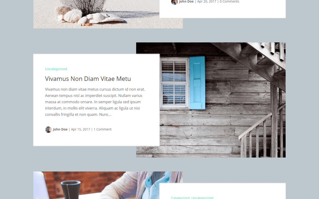 "Style Your Website with Divi Category and Blog Layout by ""Divi Extended"""