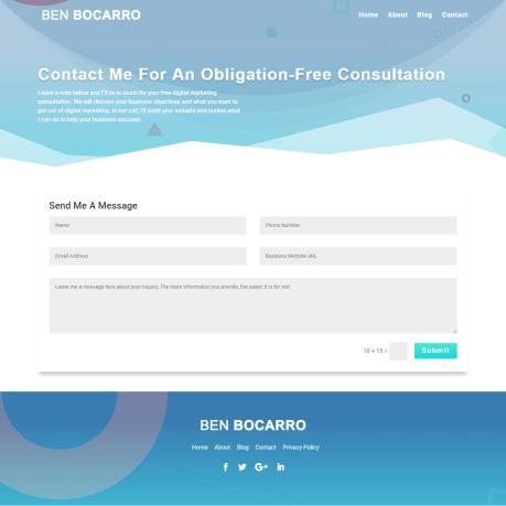 elicus-benbocarro-website-development-contact