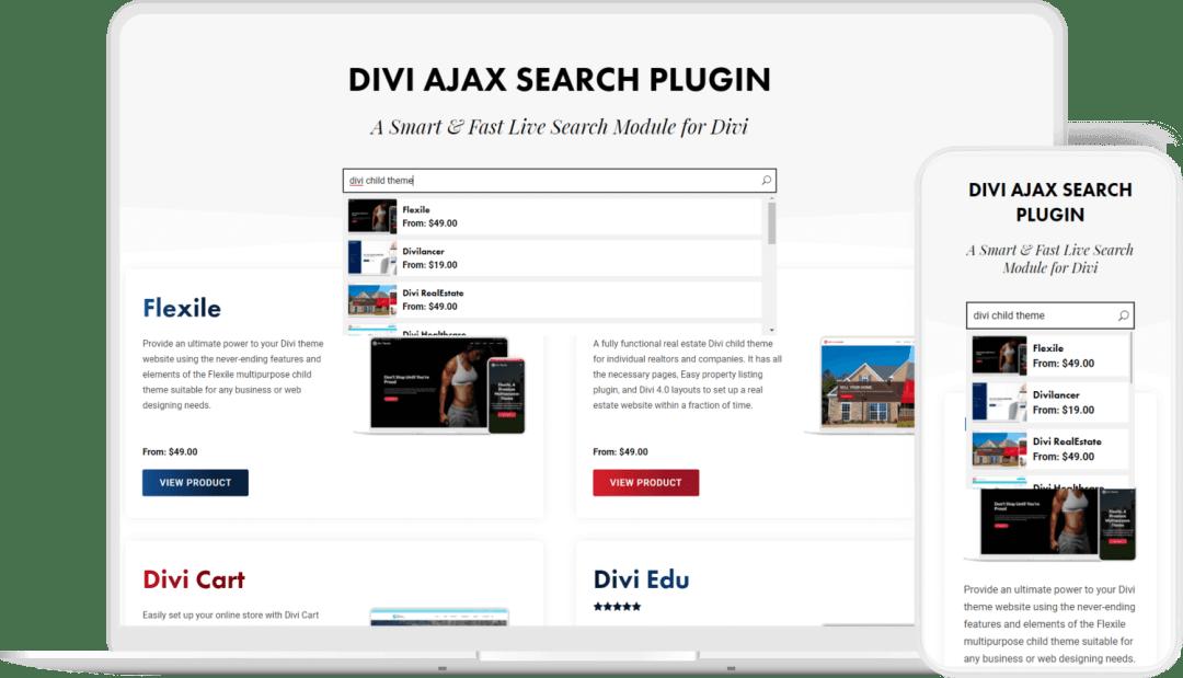 Divi-Ajax-Search-Plugin