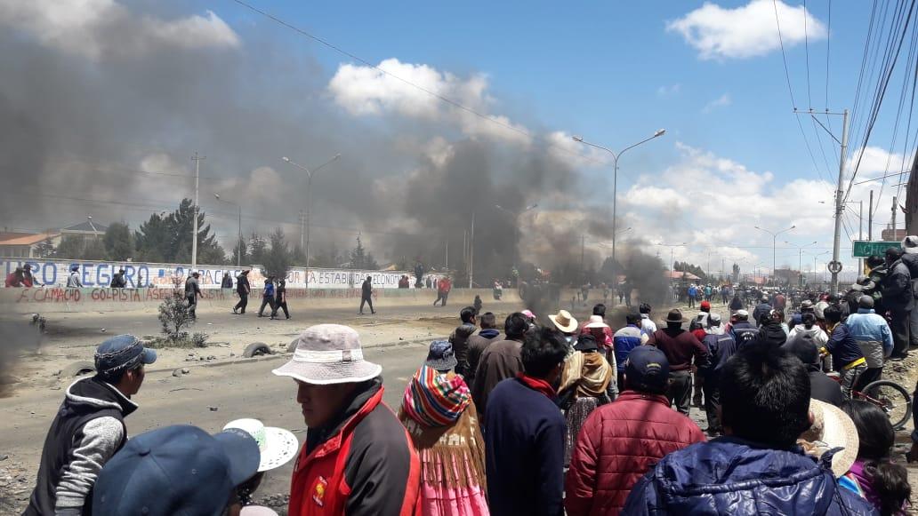 Masacre en El Alto