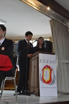 Los maestros de ceremonias, Alan Rodríguez y Edna Domínguez