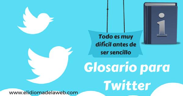 Glosario para twitter