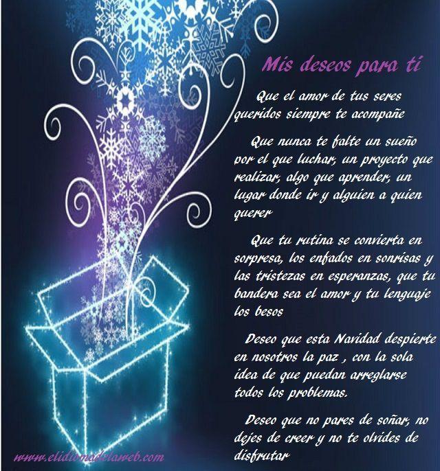 deseos para tí esta navidad