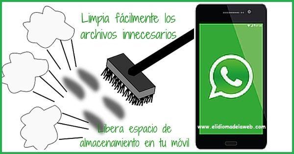 Limpia los archivos innecesarios de Whatsapp
