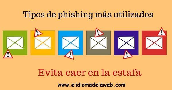 ejemplos de phishing más utilizados