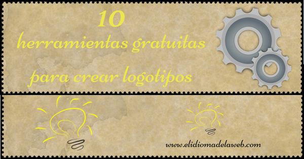 10 herramientas gratuitas para crear logotipos